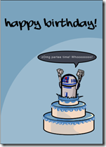 star wars birthday r2d2 cake