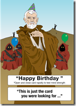 star wars birthday obi wan kenobi jawa mind trick
