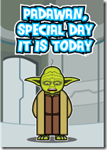 star wars birthday padawan yoda