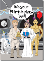 star wars same birthday luke leia skywalker