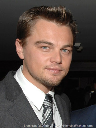 Leonardo DiCaprio Cool Hairstyle – With front little spikes