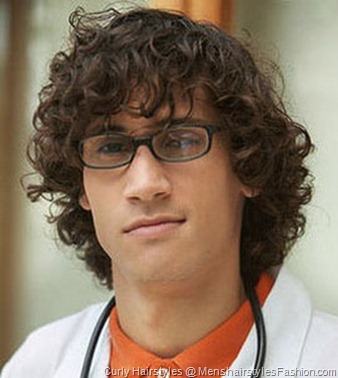 Fashion Curly Hairstyle – Men's Hairstyles