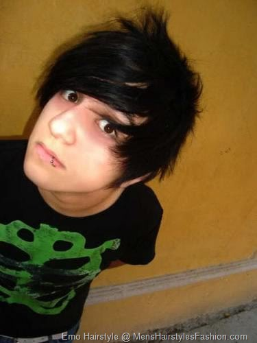 mens hairstyles emo. emo hairstyles for men