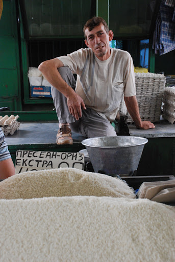 rice seller, macedonia