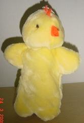 hand puppet chiken