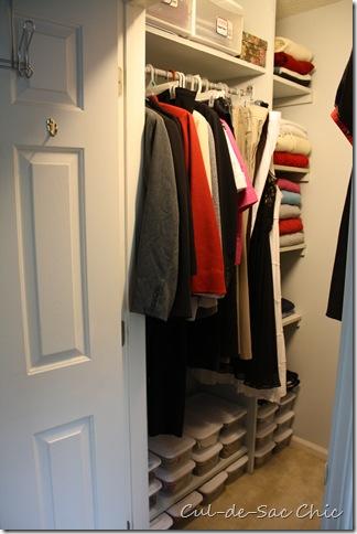 Master Closet Hers 1