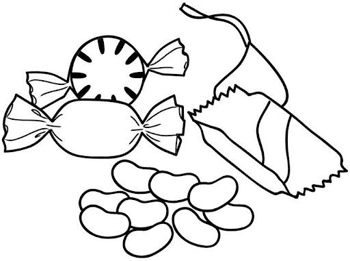 ALIMENTACION NUTRITIVA Colouring Pages