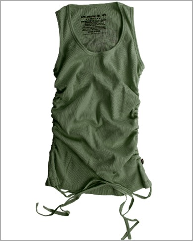 Ladies%20Love%20and%20Peace%20Tank-Olive