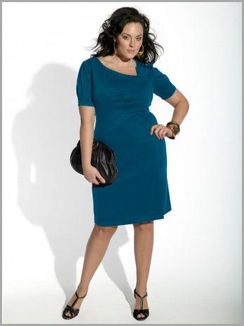 Фото платья для полных маленького роста