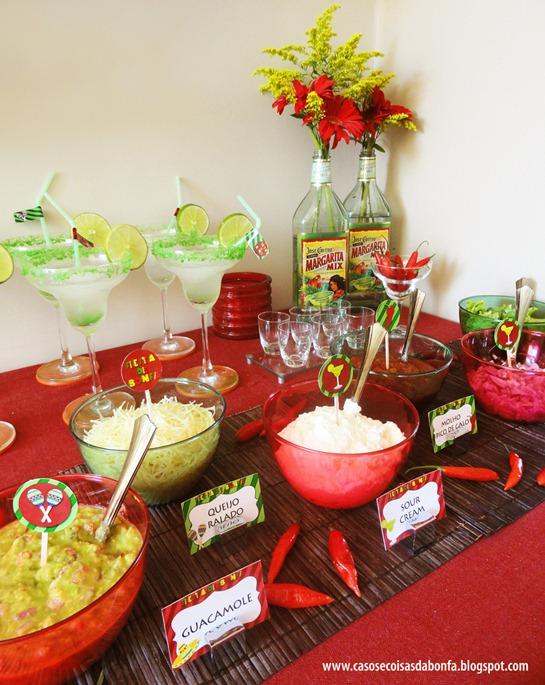 Sábado teve festa mexicana lá em casa e posso dizer que foi uma das mais  divertidas dos últimos tempos. Eu ri muuuuuito com as brincadeiras que  fizemos e ... b7831c155af