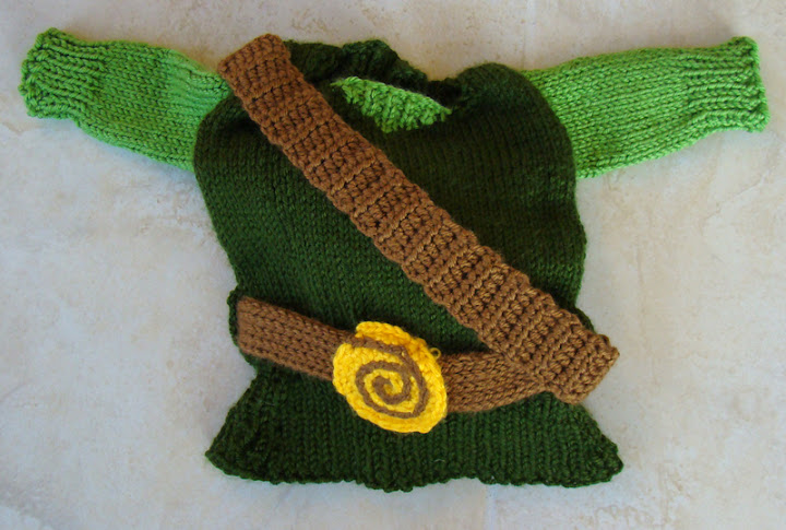 Baby Zelda Knitting Pattern : Baby Link: Now with Baby Photos! - KNITTING
