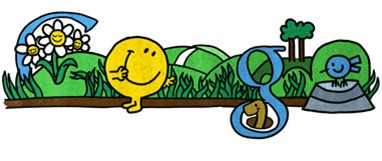 76th Birthday Of Roger Hargreaves-Mr Happy Google Doodle