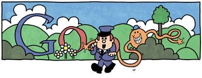 [76th Birthday Of Roger Hargreaves-Mr Tickle Google Doodle Logo[5].jpg]