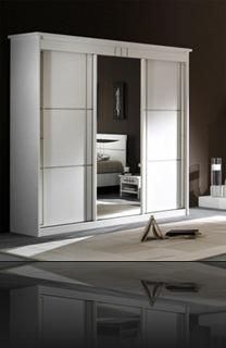 Armoire blanche design
