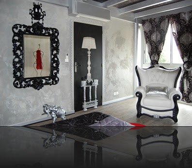 cuisine style d co et style baroque. Black Bedroom Furniture Sets. Home Design Ideas