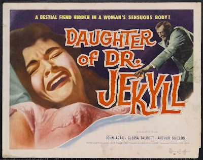 Daughter of Dr. Jekyll (1957, USA) movie poster
