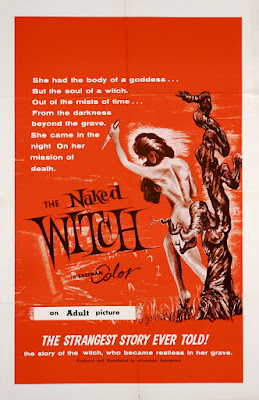 The Naked Witch (1964, USA) movie poster