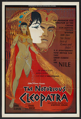 The Notorious Cleopatra (1970, USA) movie poster