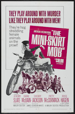The Mini-Skirt Mob (1968, USA) movie poster