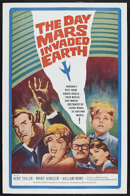 The Day Mars Invaded Earth (1963, USA) movie poster