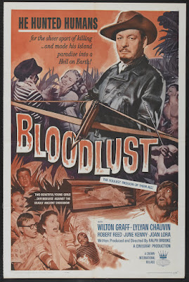 Bloodlust! (1961, USA) movie poster