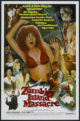 Zombie Island Massacre (1984, USA) movie poster