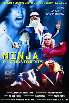 Ninja Commandments (1987, Hong Kong) movie poster