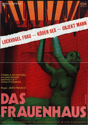Blue Rita (Das Frauenhaus) (1977, Switzerland / France) movie poster