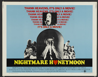 Nightmare Honeymoon (1973, USA) movie poster