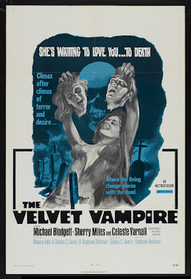 The Velvet Vampire (1971, USA) movie poster