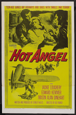 The Hot Angel (1958, USA) movie poster