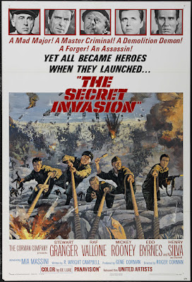 The Secret Invasion (1964, USA) movie poster