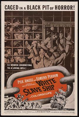 White Slave Ship (L'ammutinamento / The Mutiny) (1961, Italy / France) movie poster
