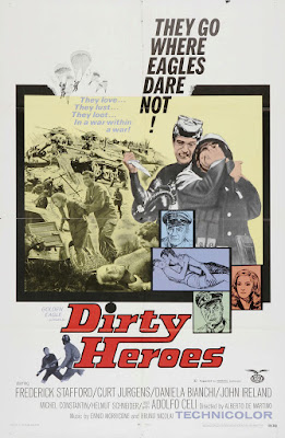 Dirty Heroes (Dalle Ardenne all'inferno) (1967, Italy / France / Germany) movie poster