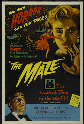 The Maze (1953, USA) movie poster