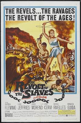 Revolt of the Slaves (La rivolta degli schiavi) (1960, Spain / Italy / Germany) movie poster