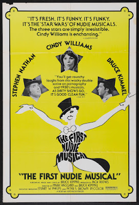 The First Nudie Musical (1976, USA) movie poster