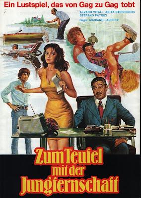 My Father's Private Secretary (La segretaria privata di mio padre) (1976, Italy) movie poster