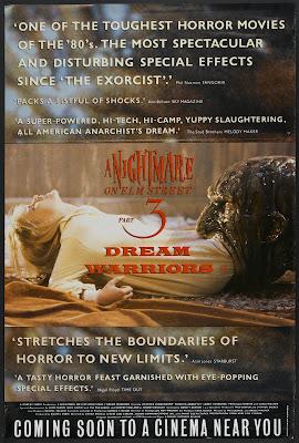 A Nightmare on Elm Street 3: Dream Warriors (1987, USA) movie poster