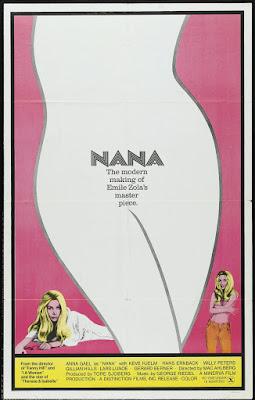 Nana (1970, Sweden / France) movie poster