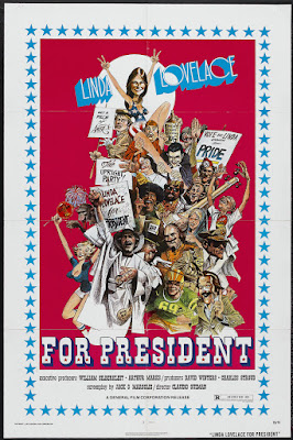 Linda Lovelace for President (1975, USA) movie poster