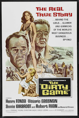 The Dirty Game (1965, USA / Germany / France / Italy) movie poster