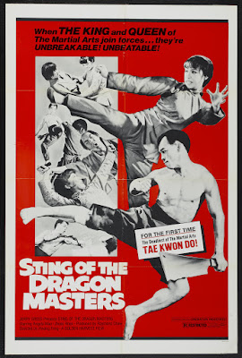 Sting of the Dragon Masters (Tai quan zhen jiu zhou) (1973, Hong Kong / South Korea) movie poster