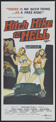 Hitch Hike to Hell (1977, USA) movie poster