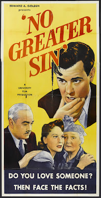 No Greater Sin (1941, USA) movie poster
