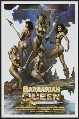 Barbarian Queen (1985, USA) movie poster
