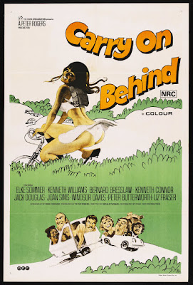 Carry on Behind (1975, UK) movie poster