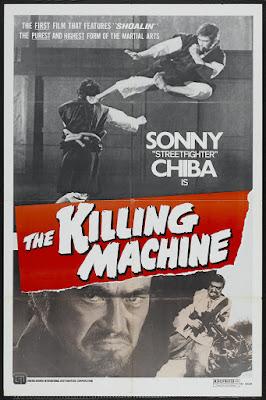 The Killing Machine (Shôrinji kenpô) (1975, Japan) movie poster