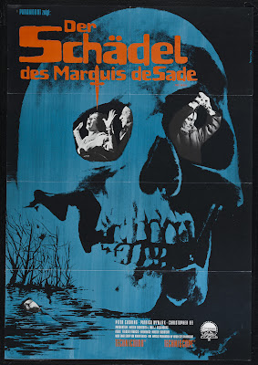 The Skull (1965, UK) movie poster