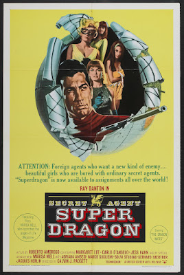 Secret Agent Super Dragon (New York chiama Superdrago / New York Calling Superdragon) (1966, France / Italy / Germany) movie poster